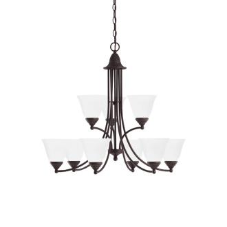 Sea Gull Lighting 31577-782 Albany - Nine Light Chandelier