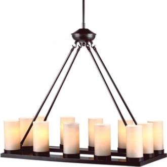 Sea Gull Lighting 31588BLE-710 Ellington - Twelve Light Chandelier