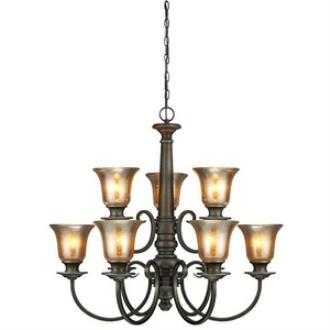 Sea Gull Lighting 3170409-736 Blayne - Nine Light Chandelier