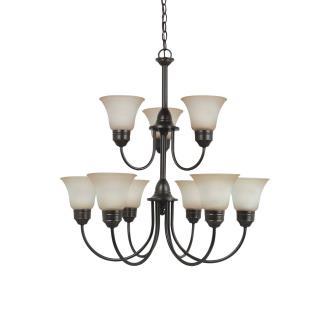Sea Gull Lighting 31852 Gladstone - Nine Light Chandelier