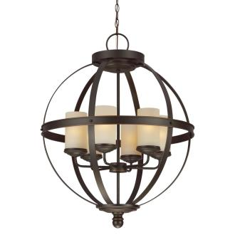Sea Gull Lighting 3190406BLE-715 Sfera - Six Light Chandelier