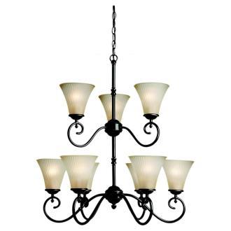 Sea Gull Lighting 31955 Joliet - Nine Light Chandelier