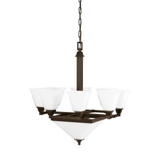 Sea Gull Lighting 3250410-710 Denhelm - Ten Light Chandelier
