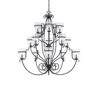 Sea Gull Lighting 3405-07 Fifteen Light Chandelier