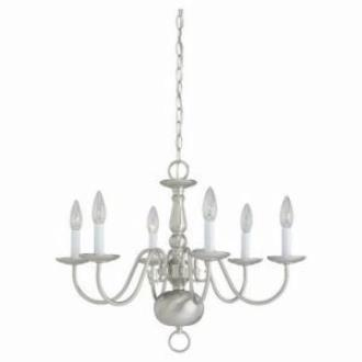 Sea Gull Lighting 3411-962 Six-Light Chandelier