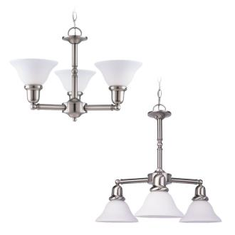 Sea Gull Lighting 39061BLE-962 Three-Light Sussex Fluorescent Chandelier
