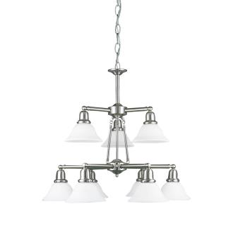 Sea Gull Lighting 39063BLE-962 Nine-Light Sussex Fluorescent Chandelier
