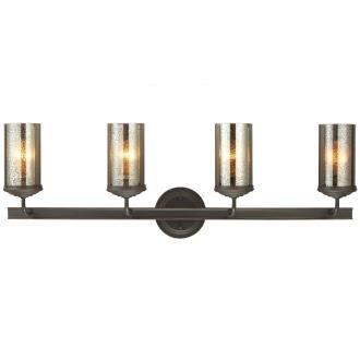 Sea Gull Lighting 4410404BLE-715 Sfera - Four Light Wall/Bath Bar