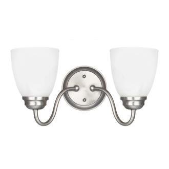 Sea Gull Lighting 4412402-962 Northbrook - Two Light Wall/Bath Bar