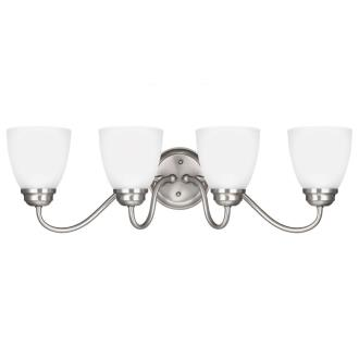 Sea Gull Lighting 4412404BLE-962 Northbrook - Four Light Wall/Bath Bar