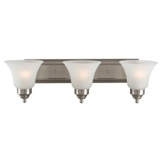 Sea Gull Lighting 44237-962 Linwood - Three Light Wall / Bath