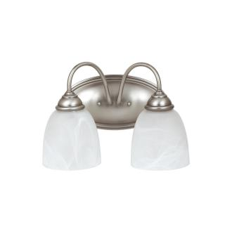 Sea Gull Lighting 44317-965 Lemont - Two Light Bath Bar