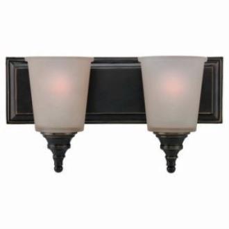 Sea Gull Lighting 44330-825 Two-Light Warwick Wall / Bath Light