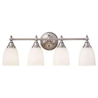 Sea Gull Lighting 44618-965 Finnitude - Four Light Bath Bar