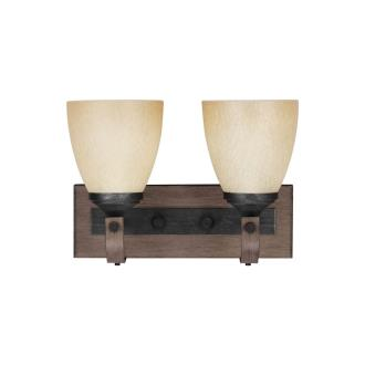 Sea Gull Lighting 4480402-846 Corbeille - Two Light Wall/Bath Bar