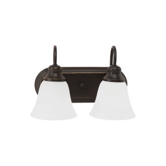 Sea Gull Lighting 44940-782 Windgate - Two Light Bath Bar
