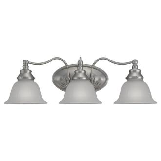 Sea Gull Lighting 49652BLE-962 Three Light Fluorescent Bath Fixture