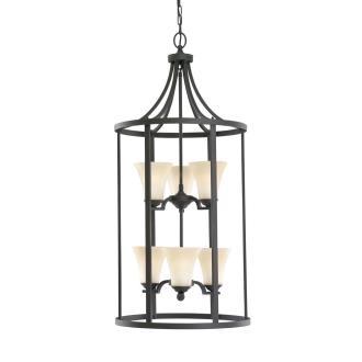 Sea Gull Lighting 51376BLE-839 Somerton - Six Light Hall Foyer