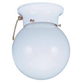 Sea Gull Lighting 5997BLE-15 Single-Light Fluorescent Pull Chain Fixture