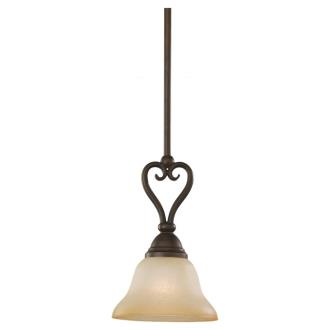 Sea Gull Lighting 61105-72 Single-Light Montclaire Pendant