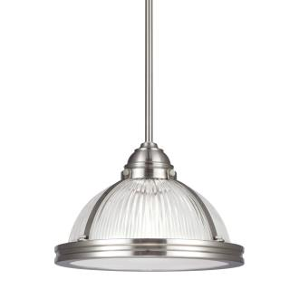 "Sea Gull Lighting 65060-962 Pratt Street - 11"" One Light Pendant"
