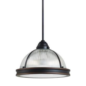 """Sea Gull Lighting 65061BLE-715 Pratt Street - 12.75"""" Two Light Pendant with Bulbs Included"""
