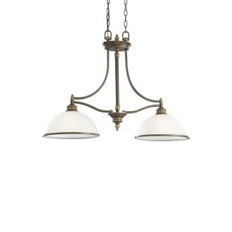 Sea Gull Lighting 66350-708 Laurel Leaf - Two Light Pendant