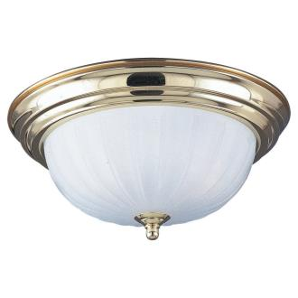 Sea Gull Lighting 7504-02 Polished Brass Close To Ceiling