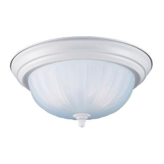 Sea Gull Lighting 7506-15 White Close To Ceiling