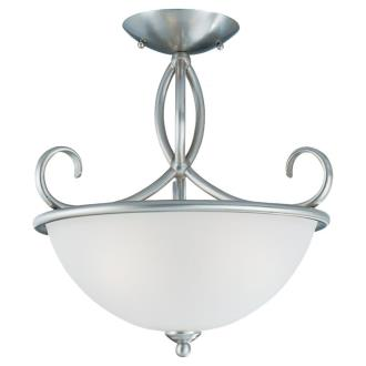Sea Gull Lighting 75075-962 Three-light Pemberton Semi-flush Mount