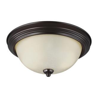 Sea Gull Lighting 77064-710 Two Light Flush Mount