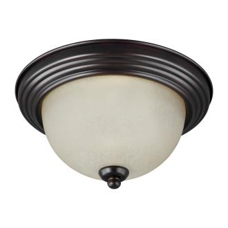 Sea Gull Lighting 77065-710 Three Light Flush Mount
