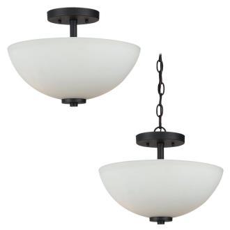 Sea Gull Lighting 77160-839 Oslo - Two Light Semi-Flush Mount