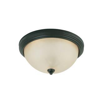 Sea Gull Lighting 77164-820 Del Prato - Two Light Flush Mount