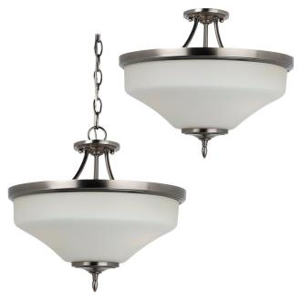 Sea Gull Lighting 77180BLE-965 Montreal - Three Light Convertible Semi-Flush Mount