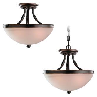 Sea Gull Lighting 77330-715 Warwick - Two Light Convertible Pendant