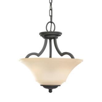 Sea Gull Lighting 77375BLE-839 Somerton - Two Light Convertible Semi-Flush Mount