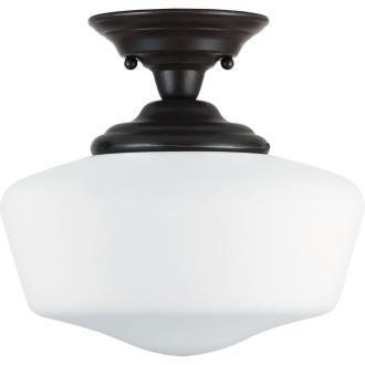 Sea Gull Lighting 77437BLE-782 Academy - One Light Semi-Flush Mount