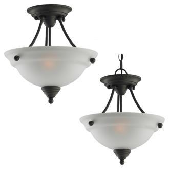 Sea Gull Lighting 77575-782 Albany - Two Light Flush Mount