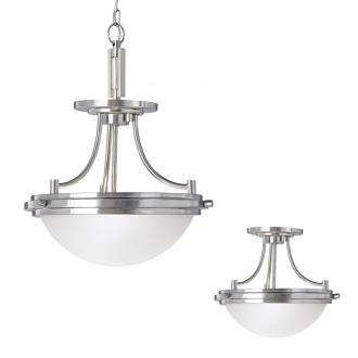 Sea Gull Lighting 77660-962 Winnetka - Two Light Convertible Pendant