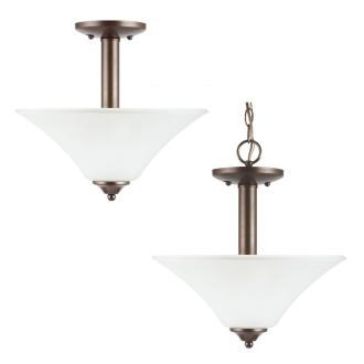 Sea Gull Lighting 77806-827 Holman - Two Light Semi-Flush Mount