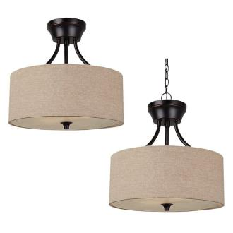 Sea Gull Lighting 77952BLE-710 Stirling - Two Light Convertible Pendant