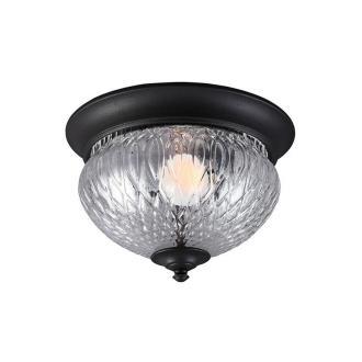 Sea Gull Lighting 7826401BLE-12 Garfield Park - One Light Outdoor Flush Mount
