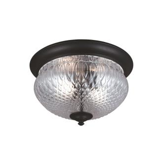 Sea Gull Lighting 7826402-12 Garfield Park - Two Light Outdoor Flush Mount
