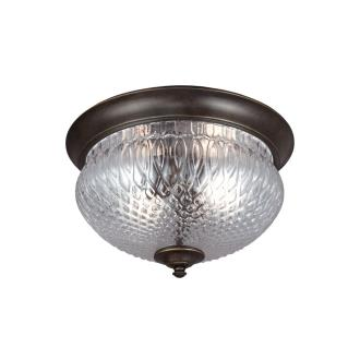 Sea Gull Lighting 7826402-780 Garfield Park - Two Light Outdoor Flush Mount