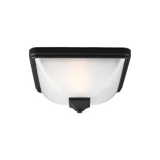 Sea Gull Lighting 7828401-12 Irving Park - One Light Outdoor Flush Mount