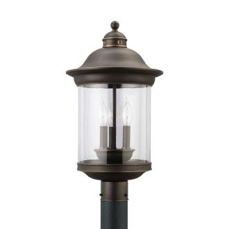 Sea Gull Lighting 82081-71 Three-light Hermitage Post Lantern
