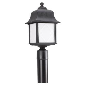 Sea Gull Lighting 82192BL-12 Harbor Point - One Light Outdoor Post Lantern