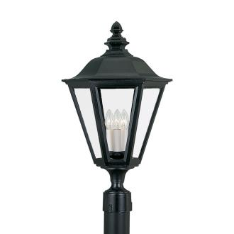 Sea Gull Lighting 8231-12 Three Light Outdoor Post Fixture