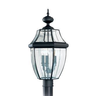 Sea Gull Lighting 8239-12 Three Light Outdoor Post Fixture